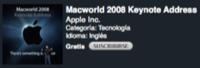 El vídeo de la MacWorld Keynote, disponible en iTunes