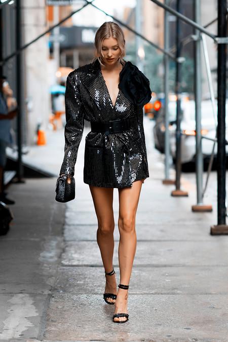 street style nyfw negro