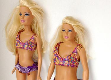 Cómo sería la Barbie si tuviera las medidas de una chica de 19 años normal