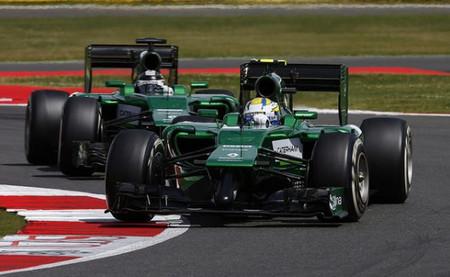 El Caterham CT05 podría perder su característico frontal en próximas carreras