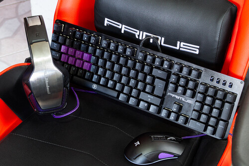 Probamos los accesorios PRIMUS: la relación calidad-precio también está en mouses, teclados, audífonos y hasta sillas para gamers