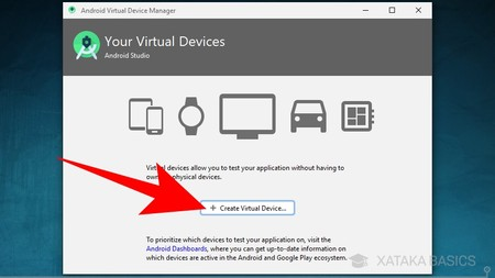 Create Virtual Device