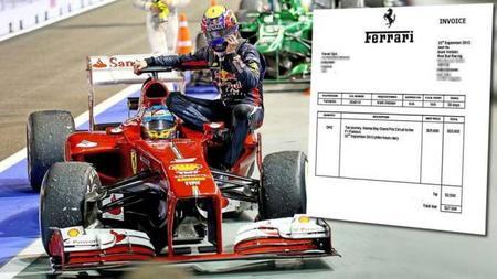 Ferrari también se toma el taxi-gate con mucha guasa [Falso]