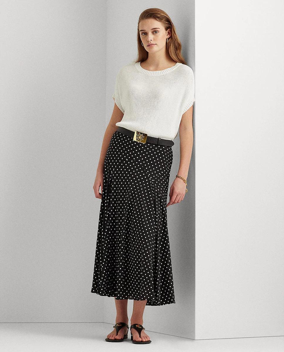 Falda midi estampada Lauren Ralph Lauren
