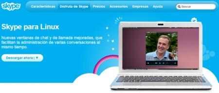 Skype 4.1 llega a Linux con integración de todos los contactos de servicios Microsoft, nueva interfaz y más