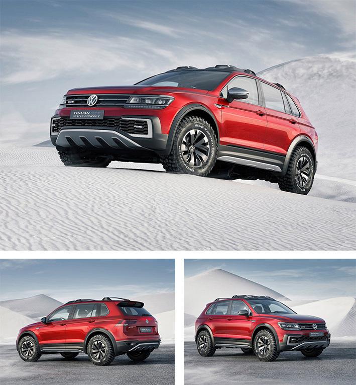 Foto de Volkswagen Tiguan GTE Active Concept (1/17)