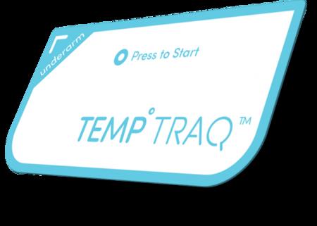 TempTrack es un termómetro continuo que se pega a la piel