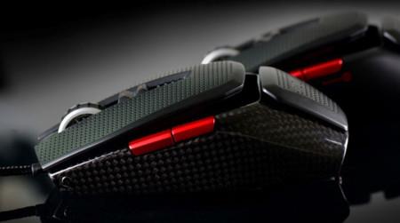 EVGA TorQ X10, fabricado con fibra de carbono