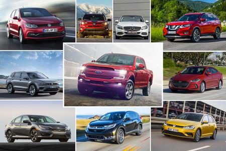 Estos son los 20 autos más vendidos en el mundo durante el primer semestre de 2017
