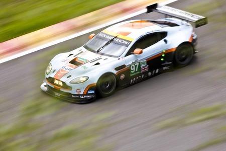 Álvaro Barba, candidato a piloto oficial de Aston Martin