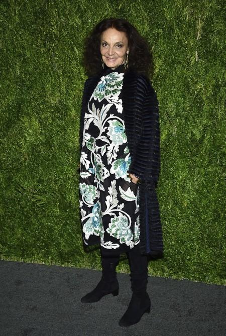 Diane Von Furstenberg cfda look