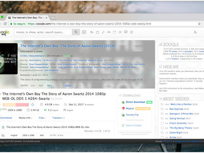 Zooqle, el buscador de torrents definitivo para los que extrañan KickassTorrents o ExtraTorrent