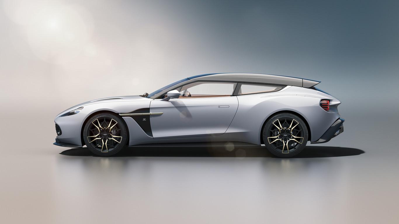 Asi Es El Espectacular Y Esperado Aston Martin Vanquish Zagato Shooting Brake De Produccion
