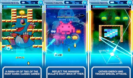 Arkanoid vs. Space Invaders irrumpe en los teléfonos móviles con un crossover lleno de nostalgia