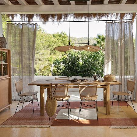 Mucho mimbre, ratán y mobiliario estilo años 70 en la nueva colección de La Redoute Interiors para esta primavera
