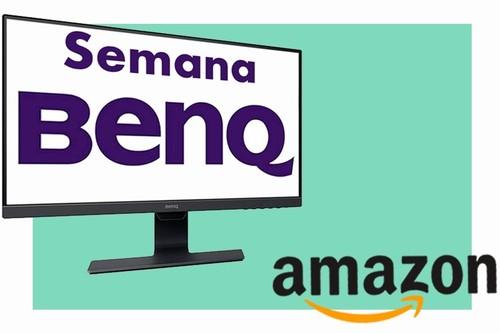 Semana BenQ en Amazon: 7 modelos de monitores para PC a los precios más interesantes