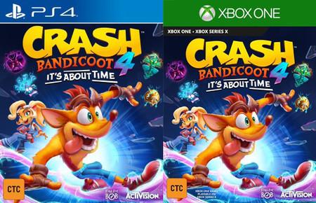 Filtrado el nuevo Crash Bandicoot 4: It's About Time: tenemos los primeros detalles del juego y la portada