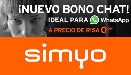 El consumo en WhatsApp y Telegram será más barato con Simyo: llega el nuevo Bono Chat