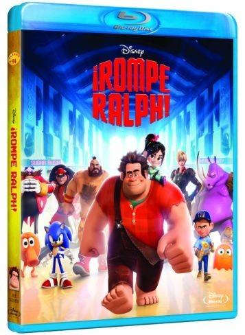 ¡Rompe Ralph! ya está disponible en blu-ray y dvd