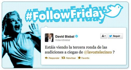 Follow Friday de Poprosa (XXV): de lo que escribe Bisbal en su libreta y otras cosas del querer