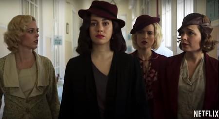 chicas del cable tercera temporada blanca suarez novia