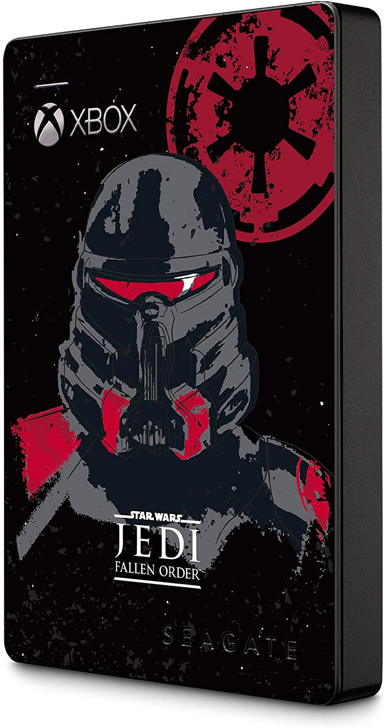 Seagate Game Drive for Xbox 2TB External Hard Drive Portable HDD – USB 3.0 Star Wars Jedi: Fallen Order Special Edition, Designed for Xbox One