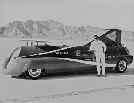 Green Monster Land Speed Record Car