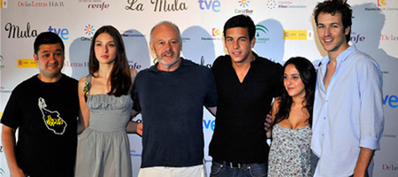Rodajes de septiembre del cine español | Mario Casas y María Valverde en 'La mula', de Michael Radford