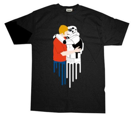 Camiseta Hot Stormy Lovin', un Stormtrooper es gay