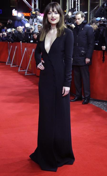 50 Sombras Grey Berlinale Alfombra Roja Dakota Johnson Jamie Dornan