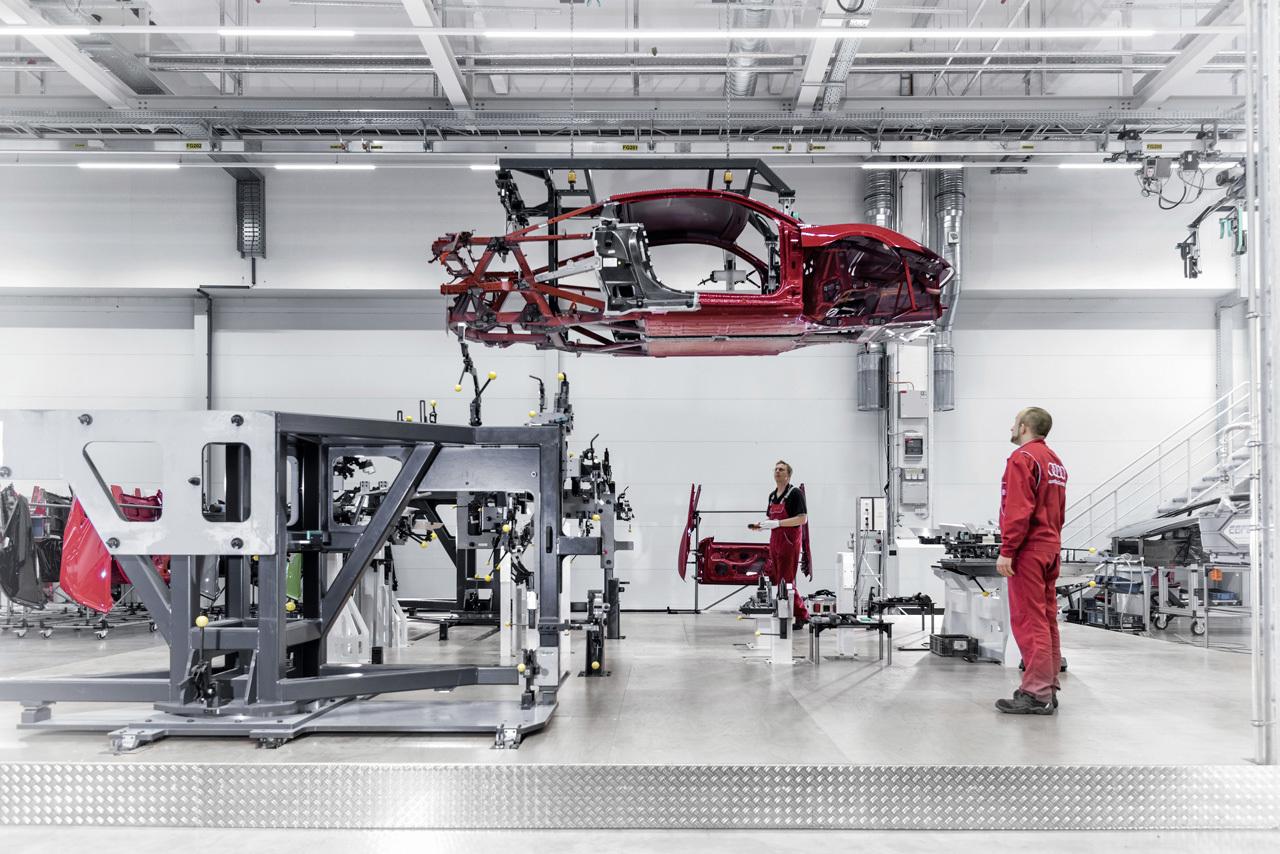Foto de Audi R8 fabricación (7/8)