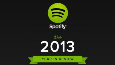 Las canciones más escuchadas en Spotify en 2013 y otras estadísticas