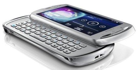 Sony Ericsson Xperia Neo en plateado