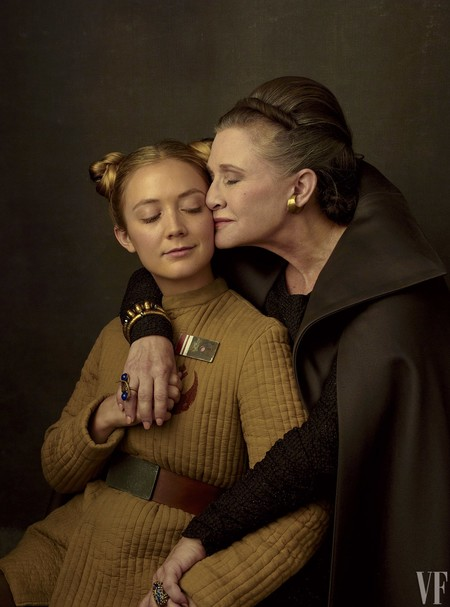 Carrie Fisher con su hija Billie Lourd