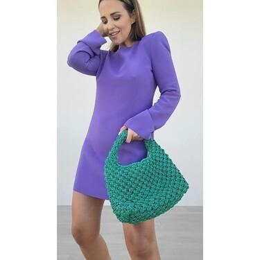Paula Echevarría agota en pocas horas el vestido de Mango ideal para lucir con looks de día y de noche