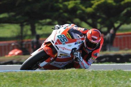 MotoGP Portugal 2010: Stefan Bradl gana la carrera de la diversión absoluta en Moto2