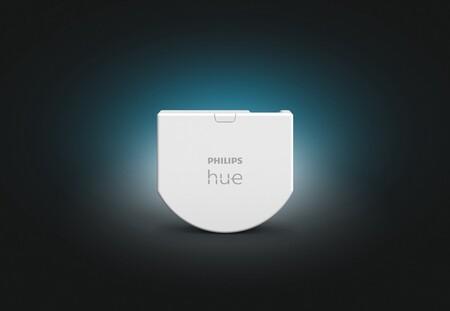 Philips Hue anuncia un módulo para convertir en inteligentes todos los pulsadores de la casa