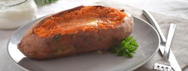 Cómo asar boniatos en el microondas: receta fácil, rápida y saludable
