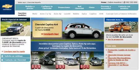 Descuentos Chevrolet