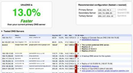 Namebench: En busca del DNS más rápido