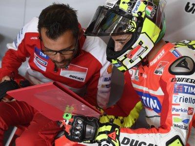 Actualización: Andrea Iannone se fractura una vértebra pero aún no está descartado para Misano