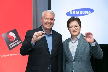 Image Keith Kressin Qualcomm Ben Suh Samsung With 10nm Snapdragon 835 Feature