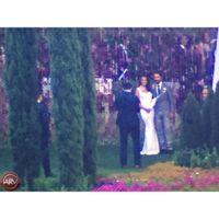 Aquí está el vestido de novia de Eva Longoria firmado por su amiga Victoria Beckham