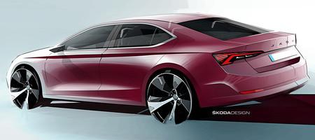 Skoda Octavia 2020: primeros bocetos de la cuarta generación
