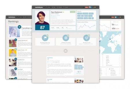 Marketyou sube la apuesta con una interfaz mucho más visual y que potencia más las cualidades de cada persona