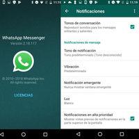 WhatsApp quiere dominar tu centro de notificaciones: así funcionan las notificaciones prioritarias
