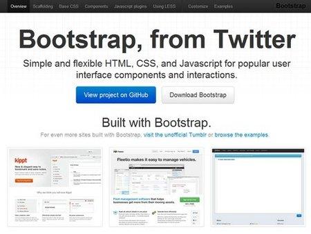 Twitter libera la versión 2.0 de Bootstrap