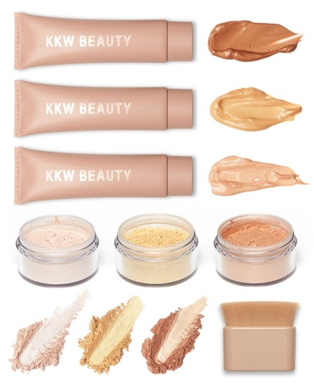kim kardashian kkw beauty body collection