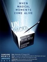 Es oficial, el próximo Samsung Galaxy Note llegará el 29 de agosto