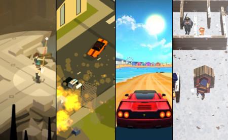 Lara Croft Go, Horizon Chase, Pako y Winter Fugitives. Cuatro juegos para el fin de semana